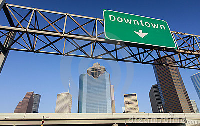 Downtown Houston Stock Images - Image: 9970844