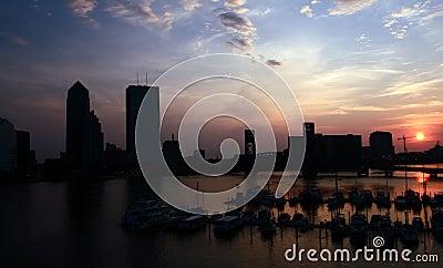 Downtown Jacksonville Sunrise