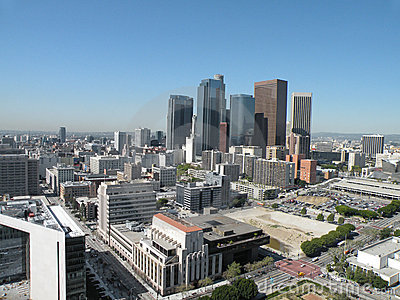 Downtown Los Angeles Editorial Photo