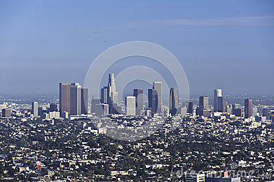 Downtown Los Angeles Editorial Image
