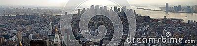 Downtown Manhattan Panoramic