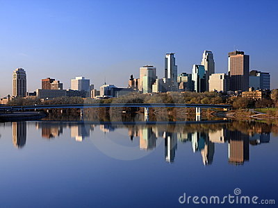 Downtown Minneapolis horizontal view