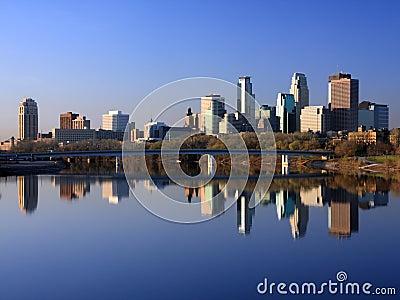 Downtown Minneapolis horizontal view