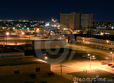 Downtown Oklahoma County Jail in Distance