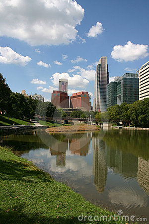 Free Downtown Omaha 2 Royalty Free Stock Photography - 2278477
