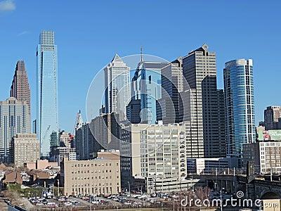 Downtown Philadelphia Editorial Image
