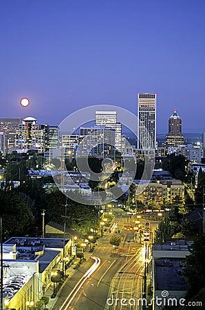 Free Downtown Portland, Oregon- USA Stock Image - 2215931