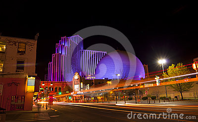 Downtown Reno Editorial Photo