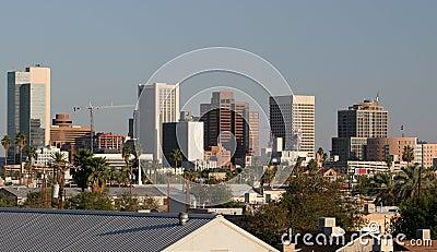 Downtown Roofs of Phoenix, AZ