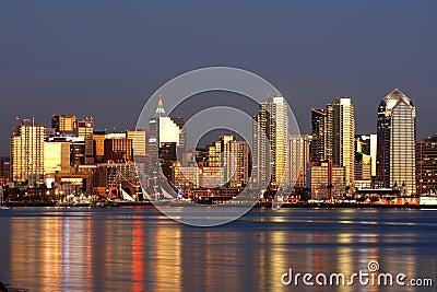 Downtown, San Diego, CA skylin