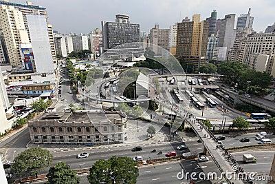 Downtown sao paulo brazil Editorial Stock Photo