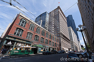 Downtown Seattle Editorial Stock Image