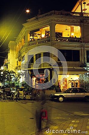 Downtown street- Phnom Penh, Cambodia