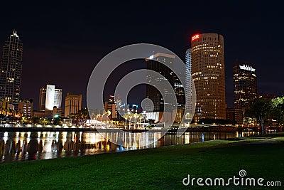 Downtown Tampa, Florida Editorial Stock Image