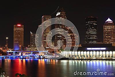 Downtown Tampa, Florida Editorial Stock Photo
