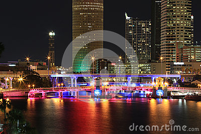 Downtown Tampa, Florida Editorial Photo