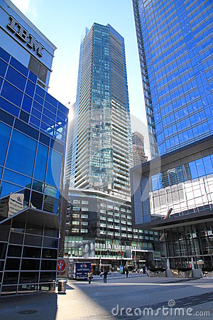 Free Downtown Toronto Modern Buildings Stock Images - 30307434