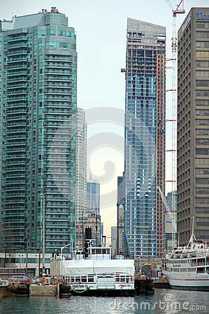 Free Downtown Toronto Modern Buildings Stock Images - 30952894