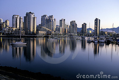 Downtown Vancouver-Canada
