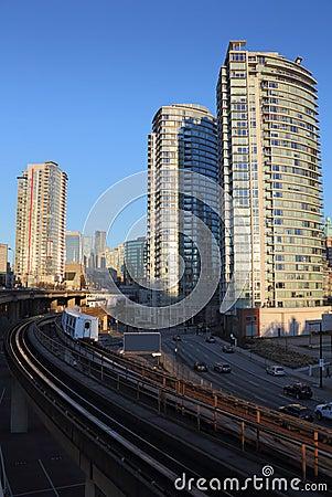 Downtown Vancouver, Commuter Rail