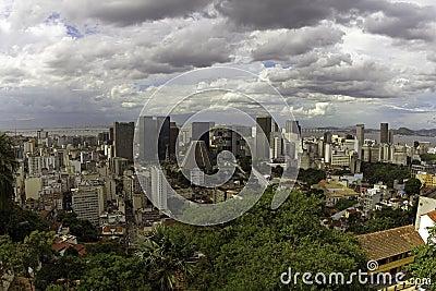 Dowtown of Rio de Janeiro