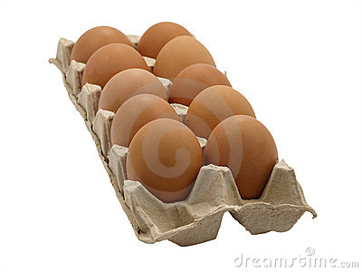 Dozen eggs.