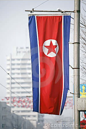 DPR Korea flag