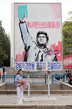 DPR korea 2013 Editorial Photo