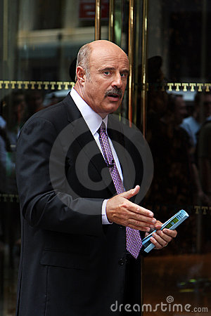 Dr. Phil Editorial Stock Photo