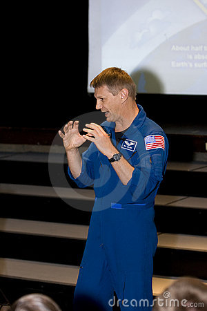 Dr Piers Sellers, Earth Scientist and NASA Astrona Editorial Stock Photo