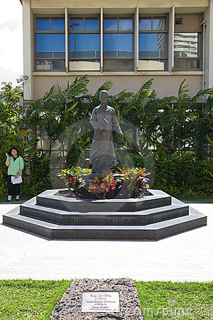 Dr. Sun Yat-sen Statue Editorial Photography