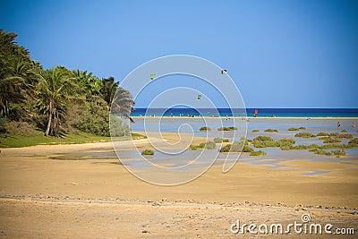 Drachen-Surfen