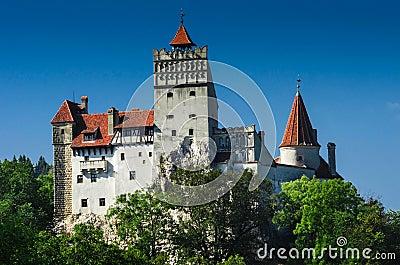 Dracula Bran Castle in Transylvania, Romania