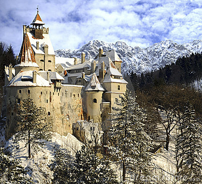 Free Draculas Bran Castle, Transylvania, Romania Stock Image - 23163651