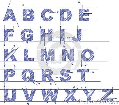 Draft type set
