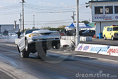 Drag car Editorial Stock Photo
