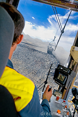 Dragline mining video cards