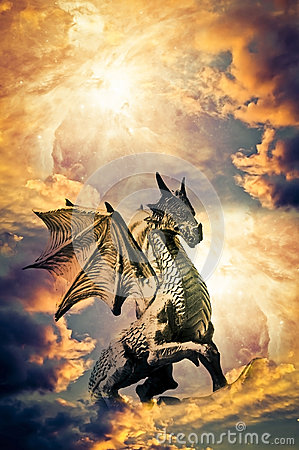 Free Dragon Stock Photography - 31870112