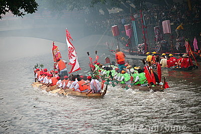 Dragon boat Editorial Stock Photo