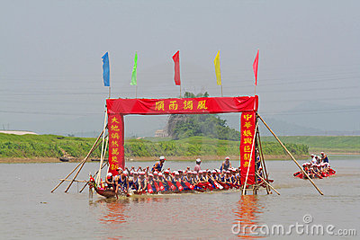 Dragon boat Editorial Photography
