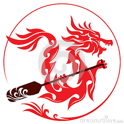 Free Dragon Boat Graphic Design Royalty Free Stock Photography - 51616467