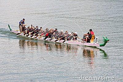 Dragon Boat Race Editorial Stock Image