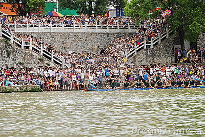 Dragon Boat Race Editorial Stock Image