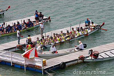 Dragon Boat Race Editorial Photo