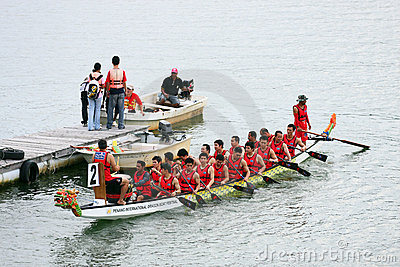 Dragon Boat Race Editorial Image