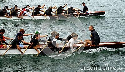 Dragon boating Editorial Image