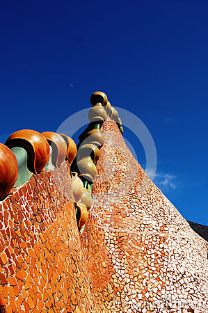 Dragon of casa Batllo