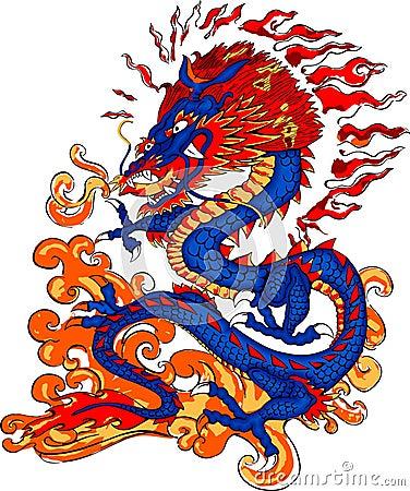 Dragon Fire Breathing