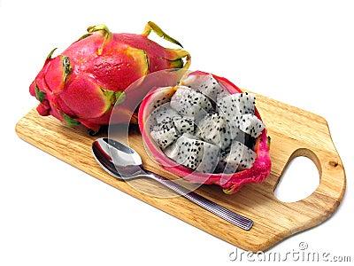 Dragon fruit pitahaya pitaya