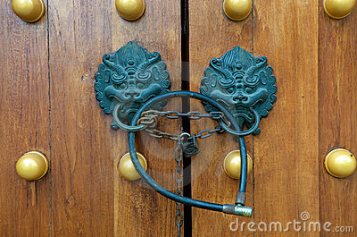 Dragon Gate Door Handle